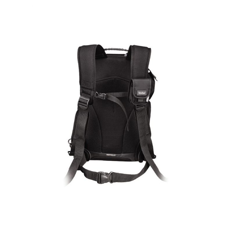 Vivitar DKS-25 Photo/SLR/Laptop Sling Backpack, Large (20 x 12 x 9in, Black)