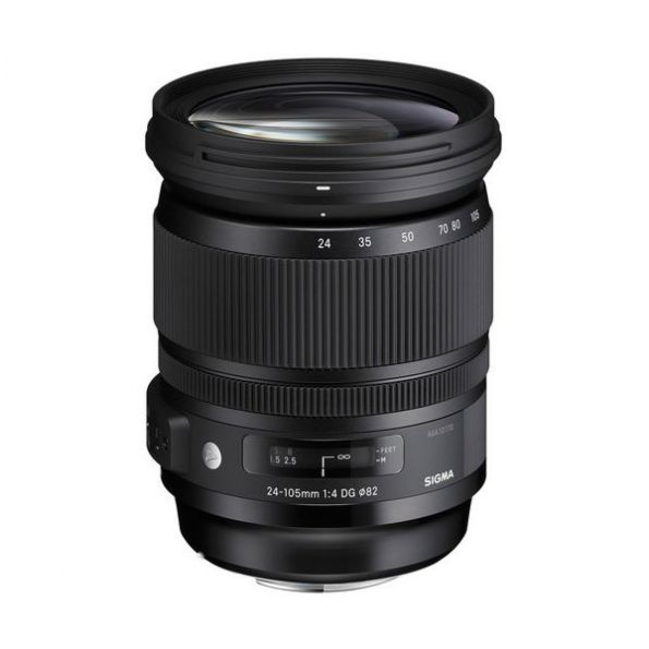 Sigma 24-105mm F/4 DG OS HSM Lens for Canon