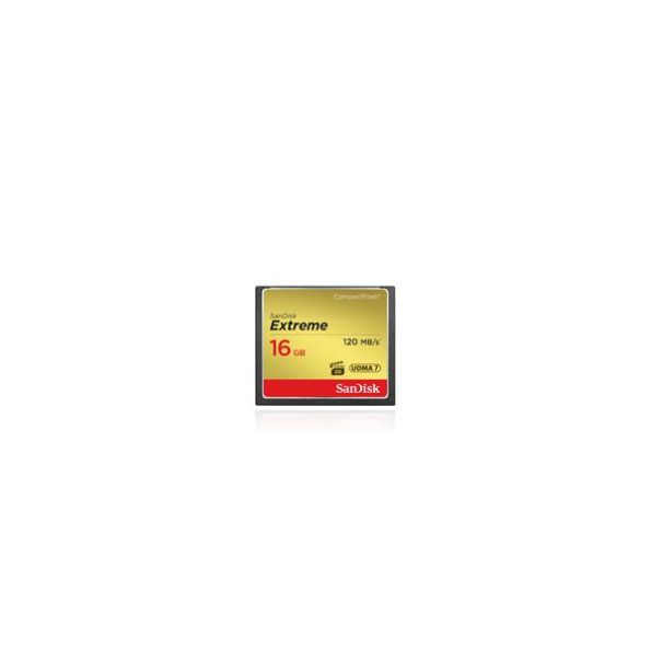 SanDisk 16 GB Extreme CompactFlash Memory Card (120mb/s)