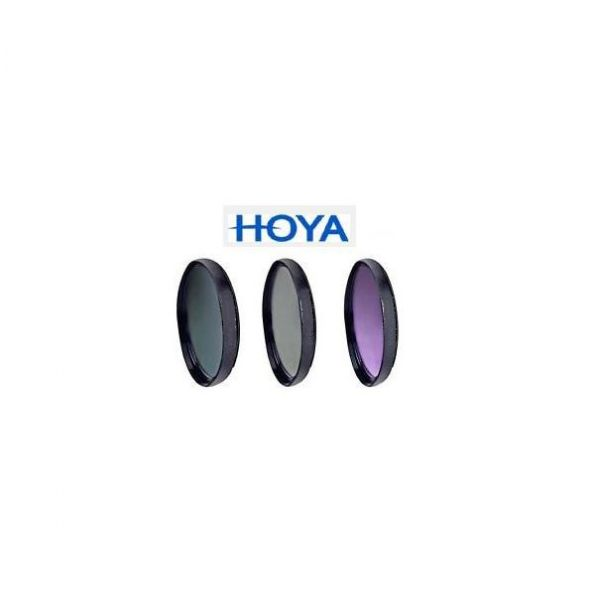 Hoya 3 Piece Multi Coated Glass Filter Kit (72mm)