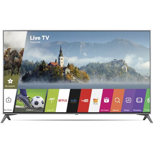 LG UJ6300-Series 60 -Class HDR UHD Smart IPS LED TV