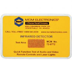 None Ir Indicator Card
