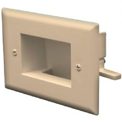 Datacomm Electronics Lalm Recessed Cble Plate