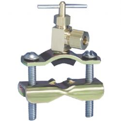 None Saddle Tap Valve