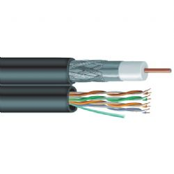 Vextra Siamese Rg6/cat5e Cable