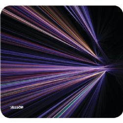 Allsop Purp Stripes Mousepad