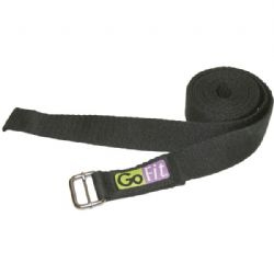 Gofit Yoga Strap 8ft Black