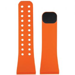 Lifetrak Band Black Tangerine