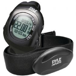 Pyle-sport Blth Heart Rate Watch Blk