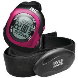 Pyle-sport Blth Heart Rate Watch Pnk