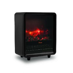 Crane - EE-8075BK Fireplace Space Heater