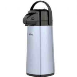 Thermos 2qt Glass Vacuum Pump Pot