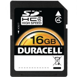 Duracell 16gb Sdhc Card