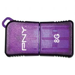 Pny Microsleek Usb 8gb Purp