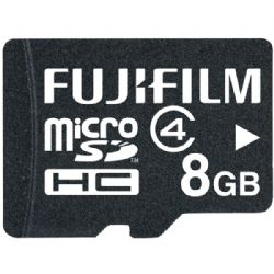 Fujifilm 8gb Cl4 Micro Sdhc Card