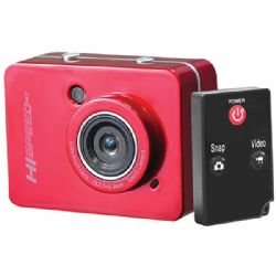 Pyle-sport 12mp 1080p Actn Cam Red