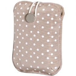 Fujifilm Slip Case Tan Polka Dot