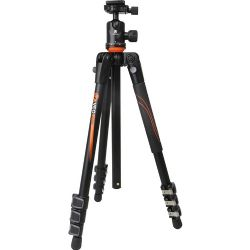 Vanguard VEO 204AB Aluminum Tripod with TBH-50 Ball Head