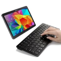 SPARIN Mini Bluetooth Keyboard for Samsung Galaxy Tab