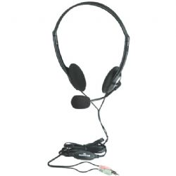 Manhattan Stereo Headset W Mic/vol