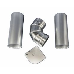 LG Electronics 3911EZ9131X Dryer Side or Bottom Venting Kit