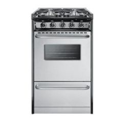 Summit TNM11027BFRWY Slide-In Gas Range Oven