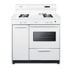 Summit Appliance WNM4307KW 36 inch 2.9 cu. ft. Gas Range Oven