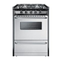 Summit Refrigeration TNM61027BFRWY 24 inch Slide-In Range Oven