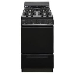 Premier SHK100BP 20 in. 2.42 Cu. ft. Freestanding Gas Range Oven