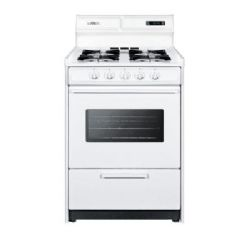 Summit WNM6307KW LP -Open Burner Gas Range Oven