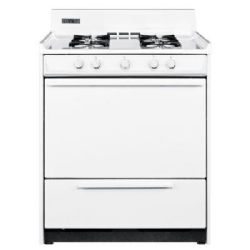 Summit WNM2107 Gas Range 30 Inch Oven