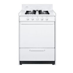 Summit WNM610P 24 inch Wide Gas Range Oven