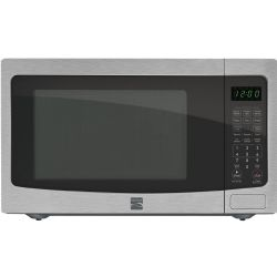Kenmore 73163 1.6 cu. ft. Countertop Stainless Steel Microwave