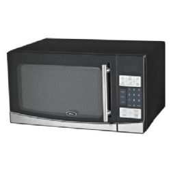 Oster OGB61102 1.1 Cu. Ft. Black Countertop Microwave Oven