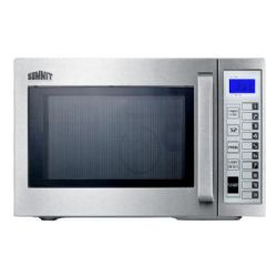 Summit SCM1000SS .9 Cu. Ft. Capacity Countertop Microwave