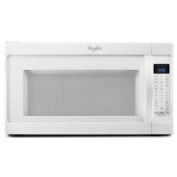 Whirlpool - WMH53520CW 2.0 Cu. ft. Over-the-Range Microwave Oven