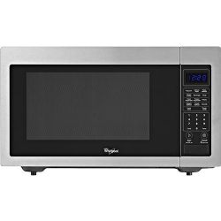 Whirlpool -WMC30516AS 1.6 Cu. Ft. Full-Size Microwave