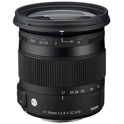 Sigma 17-70mm f/2.8-4 DC Macro OS HSM Lens ( Contemporary ) for Canon