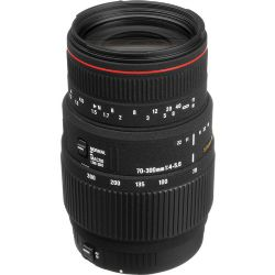 Sigma 70-300mm f/4-5.6 APO DG Macro Lens for Canon