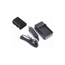 Lithium LP-E6 Extended Rechargeable Battery (2000Mah) W/ Rapid AC/DC Charger ( Home & Car Use )