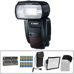 Canon Speedlite 600EX-RT Flash Essential Wedding and Event Kit
