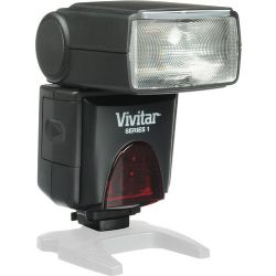 Vivitar DF-383 Series 1 Power Zoom AF Flash for Canon Cameras