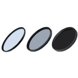 Precision 3 Piece Coated Filter Kit  (46mm)