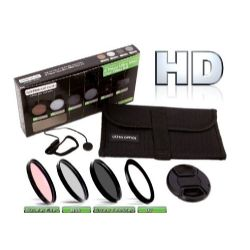 Precision 6 Piece HD Multi Coated Glass Filter Kit (72mm)