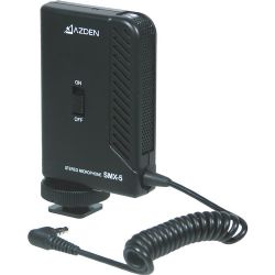 Azden SMX-5 Compact Stereo Microphone for DSLR