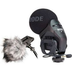 Rode Stereo VideoMic Pro + Dead Kitten Windshield Bundle