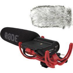Rode VideoMic Camera Mounted Shotgun Mic & Dead Cat Wind Muff