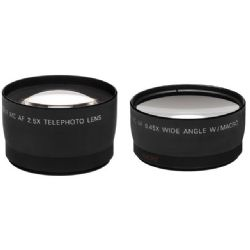 Precision Wide Angle & Telephoto Lens Set ( Black )