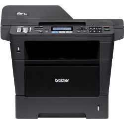 Brother - MFC-8910DW Wireless Black-and-White All-In-One Printer