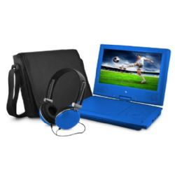Ematic -EPD909BU Portable DVD Player